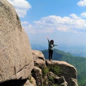 御在所岳の大黒岩からの絶景