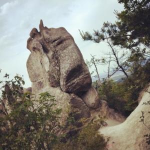 湖南アルプスこと金勝山の巨岩