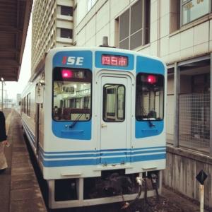 伊勢鉄道の電車の車両